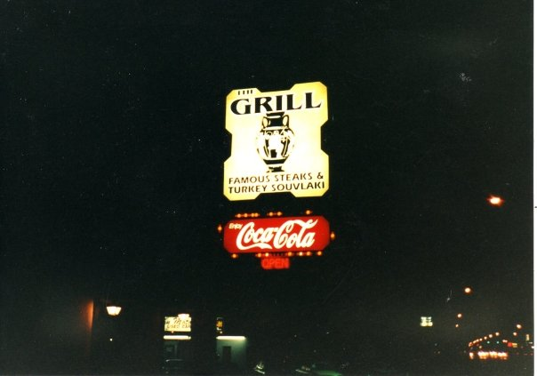 The sign at night at our restaurant on 33rd and Washington in Ogden, UT it is now a Mexican restaurant.