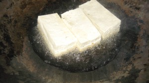 Tofu, is an option if you like it, you can sear it, fry it, or leave it plain